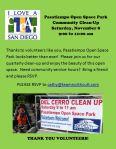 Pasatiempo Park Cleanup  110814